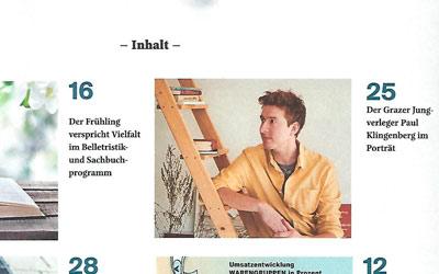 Verlag Klingenberg im »Anzeiger« – Presse – Portrait